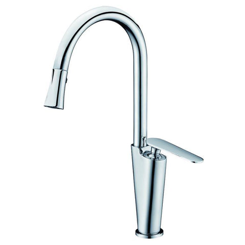 "Dawn 15"" 1.8 GPM Kitchen Faucet, Chrome, AB27 3602C"