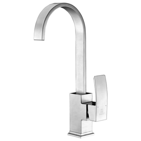 ANZZI Opus Series Single-Handle Standard Kitchen Faucet in Brushed Nickel KF-AZ035BN - The Sink Boutique