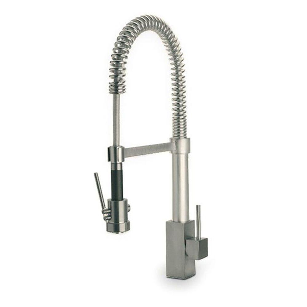 faucet toscana p handle in chrome la kitchen faucets latoscana sprayer single down pull firenze