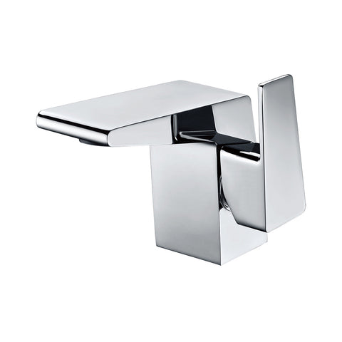 ALFI Polished Chrome Modern Single Hole Bathroom Faucet, AB1470-PC