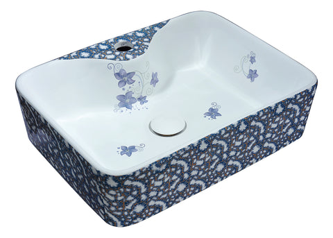 "ANZZI 18"" Cotta Series Ceramic Vessel Sink in Lavender, LS-AZ273"