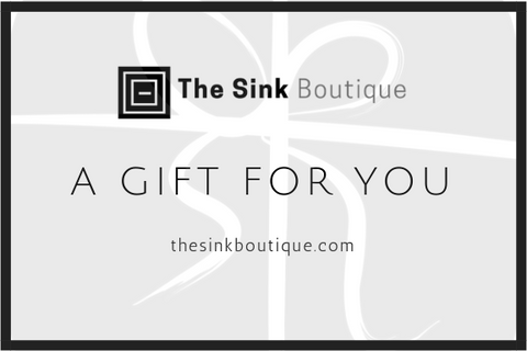 The Sink Boutique E-Gift Card