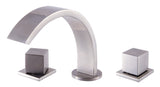 ALFI Brushed Nickel Modern Widespread Bathroom Faucet, AB1326-BN - The Sink Boutique