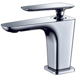 ALFI Polished Chrome Single Hole Modern Bathroom Faucet, AB1779-PC