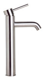 ALFI Tall Brushed Nickel Single Lever Bathroom Faucet, AB1023-BN - The Sink Boutique