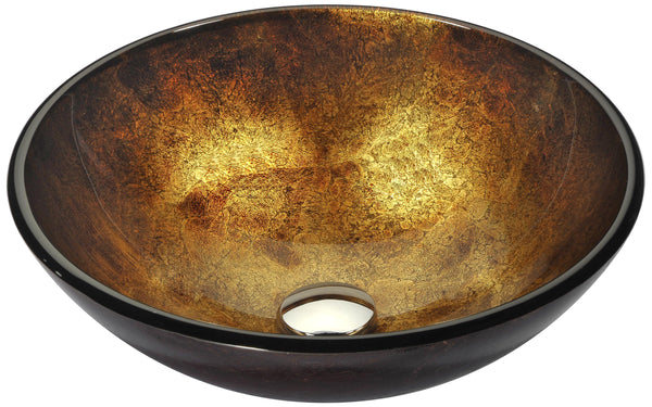 "ANZZI 16"" Arc Series Vessel Sink in Autumn Dusk, LS-AZ195"