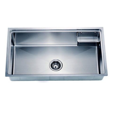 "Dawn 33"" Stainless Steel Undermount Kitchen Sink, SRU311710"