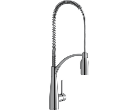 Elkay LKAV4061CR Avado Single Hole Kitchen Faucet with Semi-Professional Spout Forward Only Lever Handle Chrome
