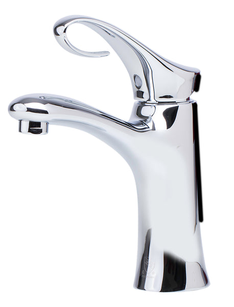 ALFI Polished Chrome Single Lever Bathroom Faucet, AB1295-PC