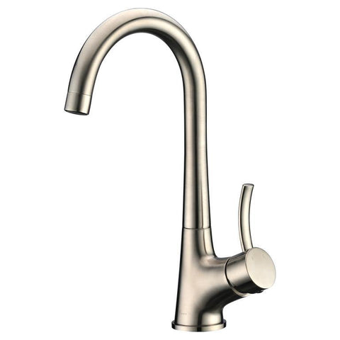 "Dawn 13"" 1.8 GPM Bar Faucet, Brushed Nickel, AB50 3714BN"