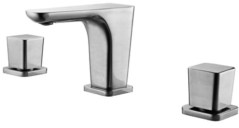ALFI Brushed Nickel Widespread Modern Bathroom Faucet, AB1782-BN