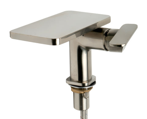 ALFI brand AB1882-BN Brushed Nickel Single-Lever Bathroom Faucet
