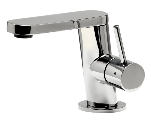 ALFI Ultra Modern Polished Stainless Steel Bathroom Faucet, AB1010-PSS
