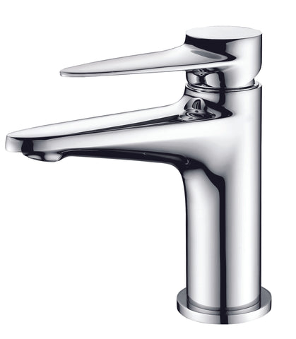 ALFI Polished Chrome Modern Single Hole Bathroom Faucet, AB1770-PC