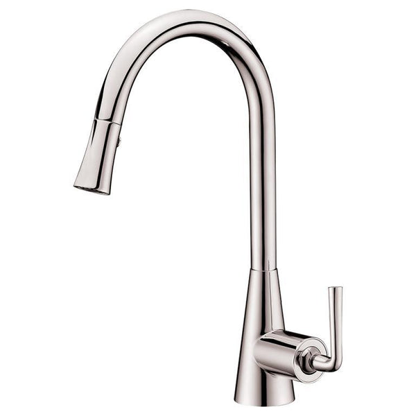 "Dawn 17"" 1.8 GPM Pull Down Kitchen Faucet, Brushed Nickel, AB30 3788BN"