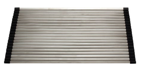 "ALFI 18"" x 13"" Modern Stainless Steel Drain Mat for Kitchen, ABDM1813"