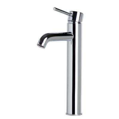 ALFI Tall Polished Chrome Single Lever Bathroom Faucet, AB1023-PC - The Sink Boutique