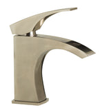 ALFI Brushed Nickel Single Lever Bathroom Faucet, AB1586-BN - The Sink Boutique