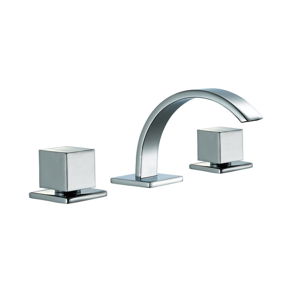 ALFI Polished Chrome Modern Widespread Bathroom Faucet, AB1326-PC