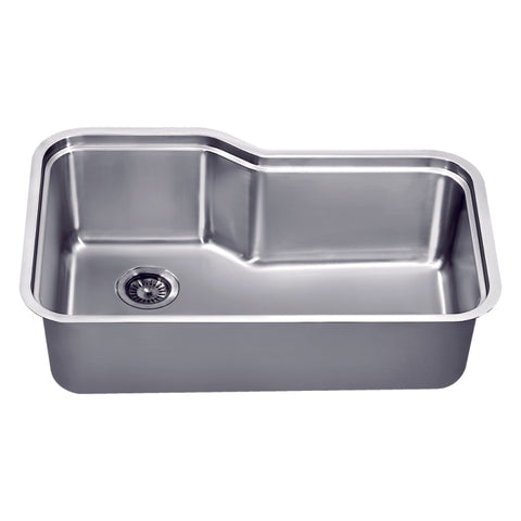 "Dawn 33"" Stainless Steel Undermount Kitchen Sink, DSU3118"