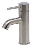ALFI Brushed Nickel Single Lever Bathroom Faucet, AB1433-BN