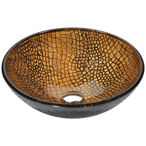 "16"" Nile Series Vessel Sink in Rugged Hide, LS-AZ199 - The Sink Boutique"