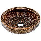 "15"" Regalia Series Vessel Sink in Speckled Umber, LS-AZ188 - The Sink Boutique"