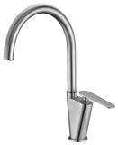ALFI Brushed Nickel Gooseneck Single Hole Bathroom Faucet, AB3600-BN