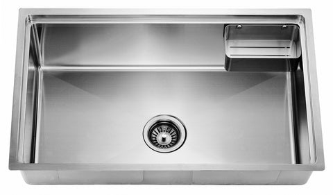 "Dawn 30"" Stainless Steel Undermount Kitchen Sink, SRU281610"