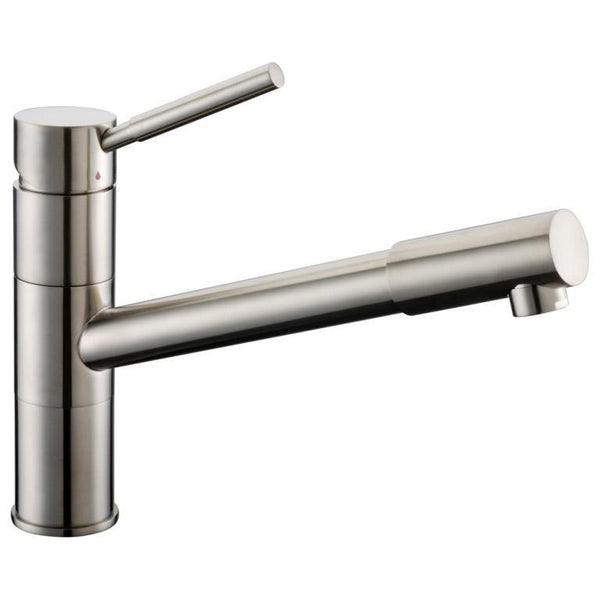 "Dawn 9"" 1.8 GPM Pull Out Kitchen Faucet, Brushed Nickel, AB33 3241BN"