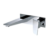 ALFI Polished Chrome Wall Mounted Bathroom Faucet, AB1472-PC