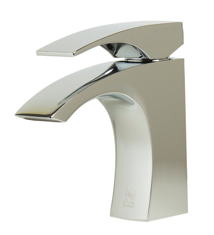 ALFI Polished Chrome Single Lever Bathroom Faucet, AB1586-PC