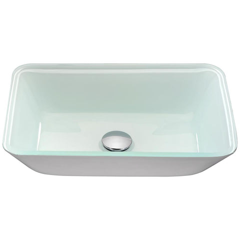 "18"" Broad Series Vessel Sink in White, LS-AZ194 - The Sink Boutique"