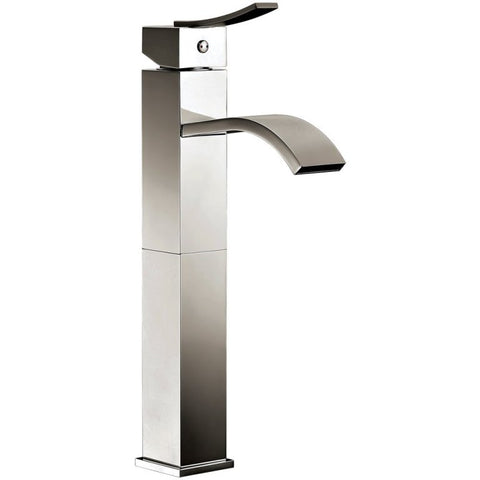 "Dawn 13"" 1.2 GPM Bathroom Faucet, Brushed Nickel, AB78 1158BN"