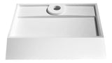 "23"" Entelea Vessel Sink in Matte White, LS-AZ523 - The Sink Boutique"