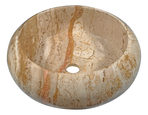 "ANZZI 16"" Valley Crest Vessel Sink in Rain Coffee, LS-AZ204"