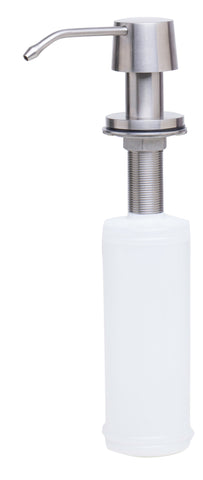 ALFI brand AB5004-BSS Solid Brushed Stainless Steel Modern Soap Dispenser