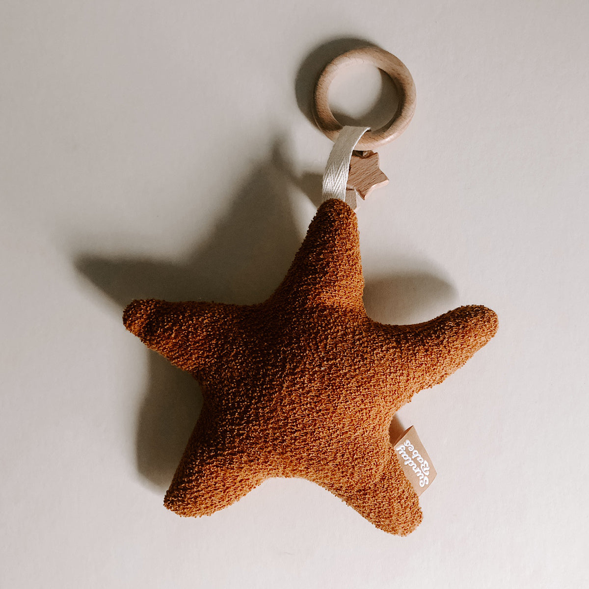 Harvest Star Baby Rattle and Teether