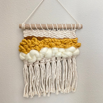 Fiber Art Wall Hanging