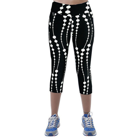 Leggings for Women Capris Leggins High Waist Elastic Exercise Female Elastic Stretchy Leggings Slim Trousers M-XXL