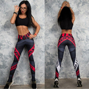 2017 Sexy Womens Workout Leggings For Joggers Fitness legging high waist Elastic Sporting leggins workout Jegging leggings 6079 - NaomisStore.com