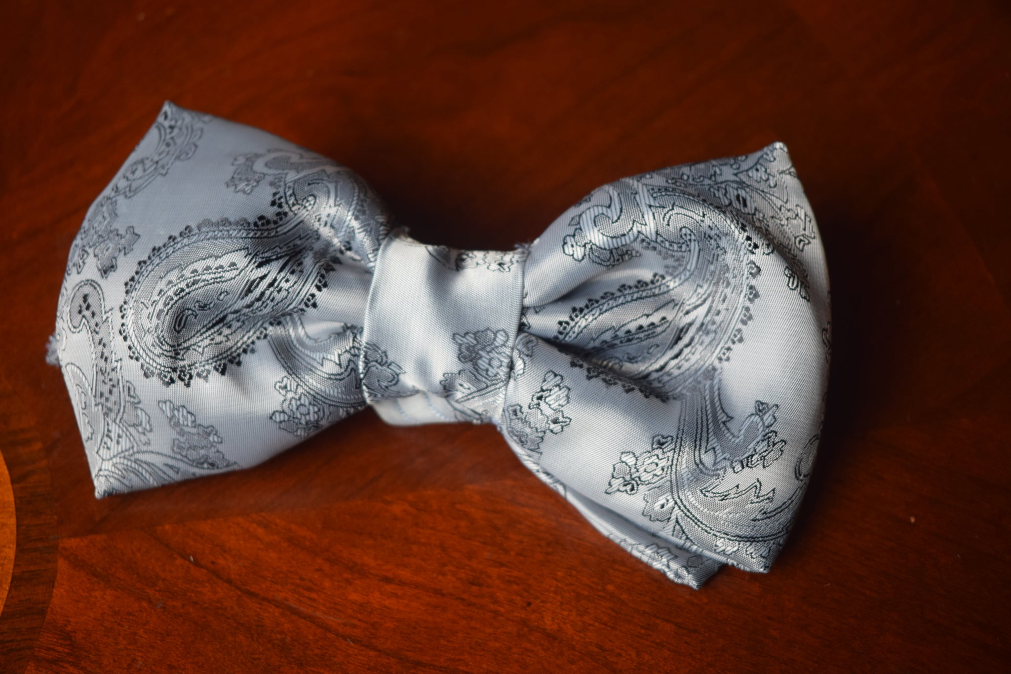 Grey Star' Galaxy Bow Tie - NaomisStore.com