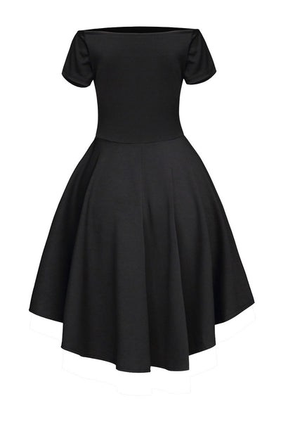 Black Rage Skater Dress - NaomisStore.com