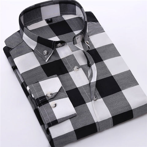 Slim Fit Turn-Down Collar Shirts
