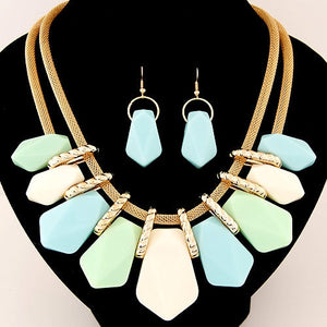 Candy Colored Fashion Jewelry Sets