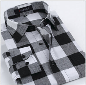 Flannel Casual Men Shirt - NaomisStore.com