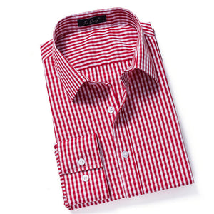 Men's Full Sleeve Plaid Shirt - NaomisStore.com