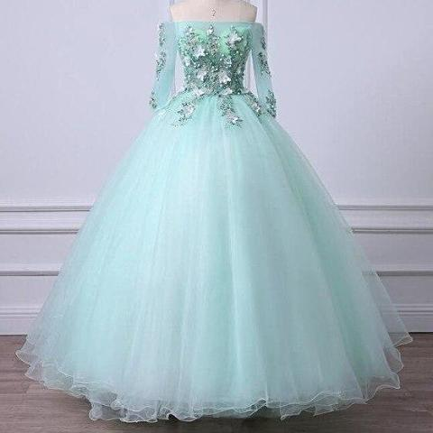 ADLN Mint Green Quinceanera Dresses