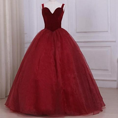 Elegant Organza Prom Dress