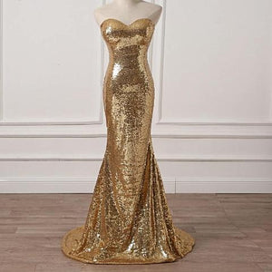 Hot Sale Mermaid Evening Gown Sweetheart Formal Dress Women